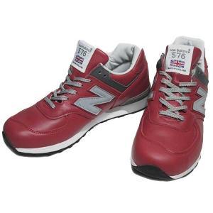 ニューバランス new balance M576 ワイズD ランニングスタイル レッド スニーカー メンズ 靴|nws