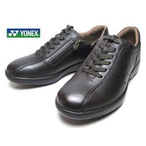 ヨネックス パワークッション YONEX POWERCUSHION MC92 ウォーキングシューズ ダークブラウン メンズ 靴|nws