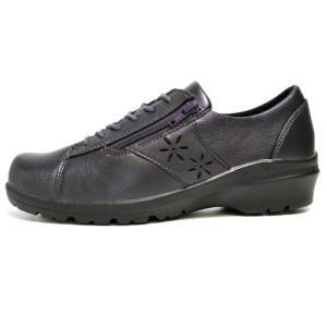 マインリラックス Mine Relax コンフォートシューズ ウォーキングシューズ カラー:パープル レディース 靴 nws
