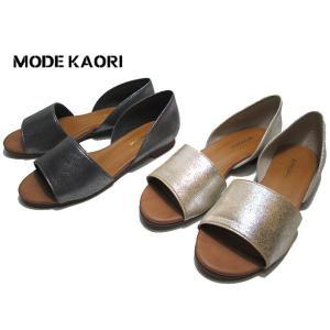 モード カオリ MODE KAORI 6206 セパレート フラットシューズ レディース 靴|nws