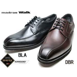 マドラスウォーク madras Walk ゴアテックス サラウンド 外羽根 ツーシーム スワールモカ ビジネスシューズ メンズ 靴 nws