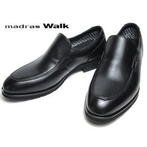 マドラスウォーク madras Walk MW5642S ワイズ4E ゴアテックス サラウンド フットウェア ブラック メンズ 靴|nws
