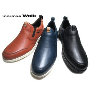 マドラスウォーク madras Walk MW8016 3E カジュアルスリッポンシューズ メンズ 靴|nws
