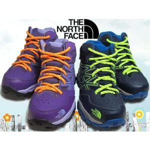 ノースフェイス THE NORTH FACE トレッキングブーツ BアンドG ヘッジホッグ ハイカーミッド ウォータープルーフ キッズ 靴 nws