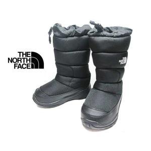 ザ ノース フェイス THE NORTH FACE NFJ51985 ヌプシブーティーウォータープルーフワイド ブラック キッズ 靴 nws