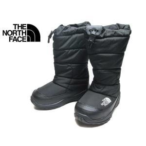 ザ ノース フェイス THE NORTH FACE NFJ51986 ヌプシブーティーワイド ブラック キッズ 靴 nws