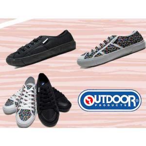 アウトドア OUTDOOR PRODUCTS スケーター風スニーカー ギンガム レディース 靴|nws