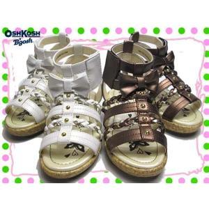 オシュコシュ OSHKOSH グラディエーターサンダル サンダル キッズ 靴|nws