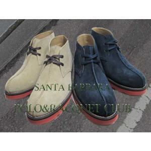 サンタバーバラ ポロ&ラケットクラブ センターシーム チャッカブーツ メンズ 靴|nws