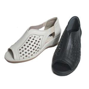ピサ PISAZ オープントゥパンチングシューズ レディース 靴 nws
