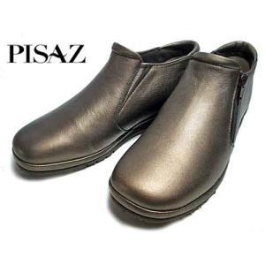 ピサ Pisaz サイドファスナーカジュアルシューズ ブロンズ レディース・靴 nws