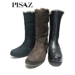 ピサ Pisaz ボアデザインミドルブーツ レディース・靴