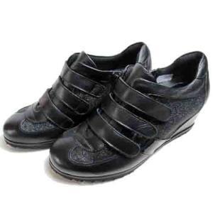 ピサ Pisaz インヒールスニーカー ブラックM レディース・靴|nws