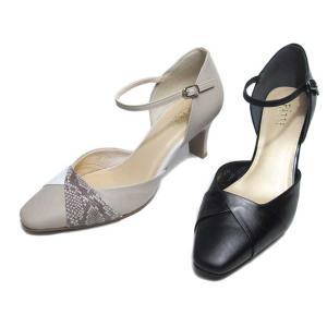 ピッティ Pitti 4621 ワイズ3E セパレートパンプス レディース 靴 nws