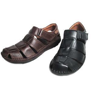 ピコリノス PIKOLINOS かかと付きコンフォートサンダル メンズ 靴|nws