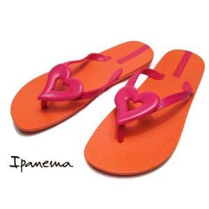 イパネマ IPANEMA LOVE IV ビーチサンダル トングサンダル オレンジ レディース 靴|nws