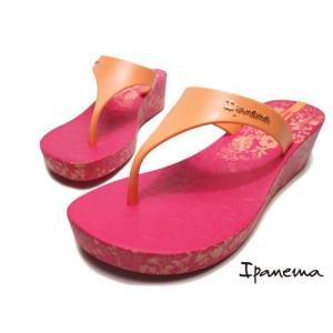 イパネマ IPANEMA HONOLULU ビーチサンダル 厚底トングサンダル ピンク レディース 靴|nws