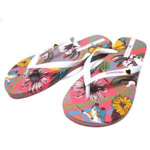 イパネマ IPANEMA I LOVE TRIBAL ビーチサンダル トングサンダル ピンク レディース 靴|nws