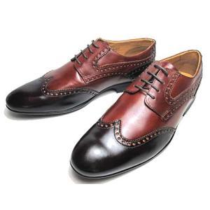 パベルマルディーニ PABEL MALDINI ビジネスシューズ ウィングチップ ブラウンダークブラウン メンズ 靴|nws