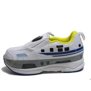 プラレール PLARAIL タカラトミー 新幹線 N700 スリッポンタイプ スニーカー ホワイト キッズ 靴|nws