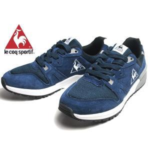 ルコックスポルティフ le coq sportif ブローニュ SD ランニングスタイル ネイビー メンズ レディース 靴|nws