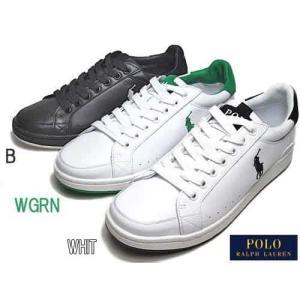 ポロ ラルフローレン POLO RALPH LAUREN TALBERT レザー スニーカー メンズ 靴|nws