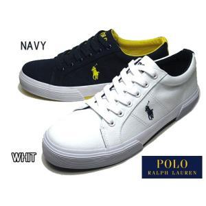 ポロ ラルフローレン POLO RALPH LAUREN FELIXTOW キャンバス スニーカー メンズ 靴|nws