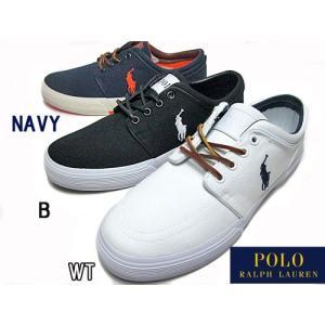 ポロ ラルフローレン POLO RALPH LAUREN FAXON LOW キャンバススニーカー メンズ 靴|nws