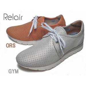 リレア Relair パンチングレザースニーカー レディース 靴|nws