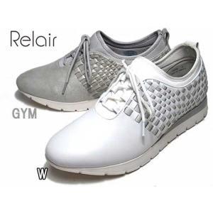 リレア Relair メッシュレザースニーカー レディース 靴|nws