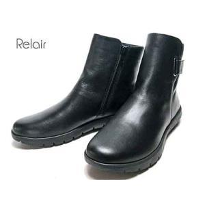 リレア Relair ベルトデザイン ショートブーツ レディース 靴|nws