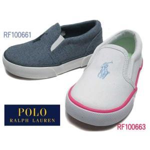 ポロラルフローレン Polo RalphLauren BAL HARBOUR 2 スリッポン スニーカー キッズ 靴|nws