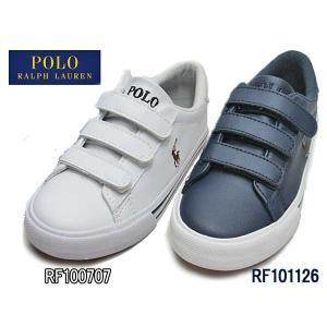 ポロラルフローレン Polo RalphLauren EASTEN EZ ベルクロスニーカー キッズ 靴|nws
