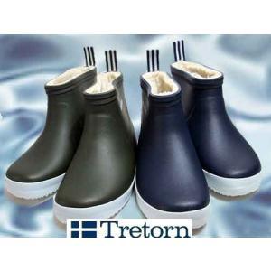 トレトン Tretorn Wings Winter Low レインブーツ ショート丈ラバーブーツ 長靴 雨靴 レディース 靴|nws