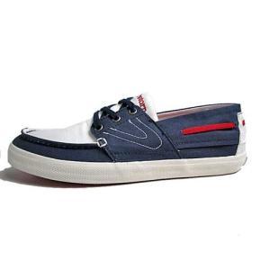 トレトン Tretorn オットー キャンバス デッキシューズタイプ スニーカー ホワイトブルー メンズ 靴|nws
