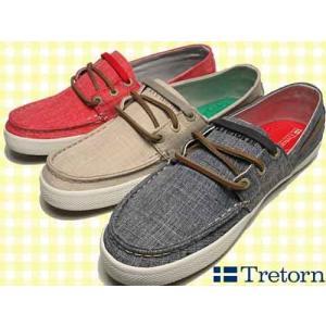トレトン Tretorn オットー リネン デッキシューズタイプ スニーカー メンズ レディース 靴|nws