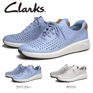 クラークス Clarks レディースカジュアル フラットシューズ Un Rio Tie 516G アンリオタイ ヒール:45mm|nws