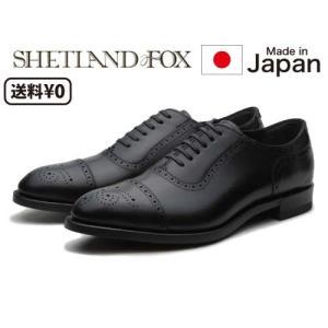 リーガル SHETLANDFOX シェットランドフォックス メンズビジネス セミブローグ 004F ...