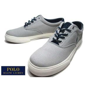 ポロ ラルフローレン POLO RALPH LAUREN VAUGHN スニーカー グレー メンズ 靴|nws