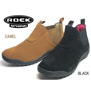 ロックスプリング ROCK SPRING RS-222 カジュアルサイドゴアブーツ レディース 靴|nws
