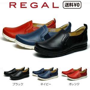 リーガル REGAL レディース カジュアル スリッポン F27L AD ヒール:20mm|nws