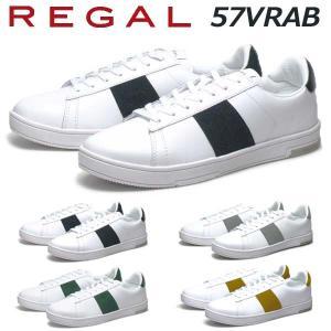 リーガル REGAL メンズカジュアル ウルトラライトレザースニーカー 57VR AB nws