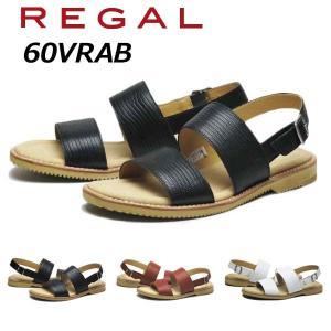 リーガル REGAL メンズカジュアル バックバンドサンダル 60VR AB nws