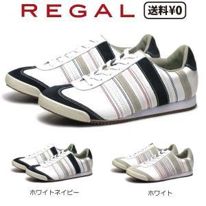 リーガル REGAL レディースカジュアル レザースニーカー BE72 AD ヒール:18mm nws