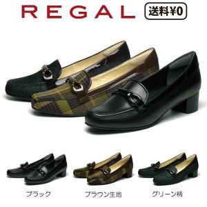 リーガル REGAL レディース デザインカッターシューズ F62L AG ヒール:40mm