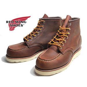 レッドウィングシューズ RED WING SHOES クラシックワーク 6インチ モックトゥ メンズ 靴 nws