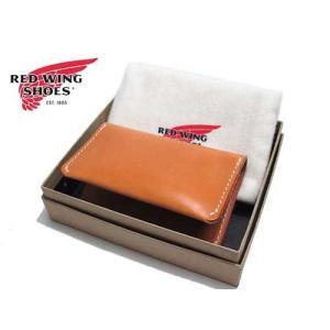 RED WING レッドウィング カードケース 名刺入れ タン メンズ アクセサリー nws
