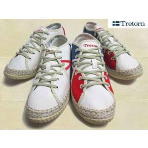 トレトン Tretorn レースアップ 薄底スニーカー レディース 靴|nws