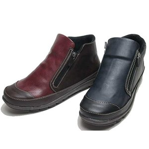 SCOOZII 両サイドにファスナー カジュアルシューズ レディース 靴|nws