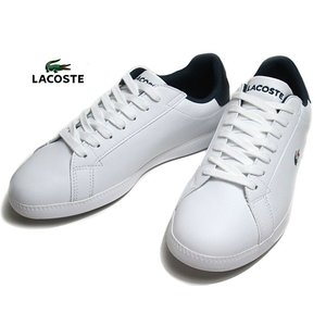 ラコステ LACOSTE SFA0050 GRADUATE TRI 1 ホワイトネイビーレッド スニーカー レディース 靴|nws
